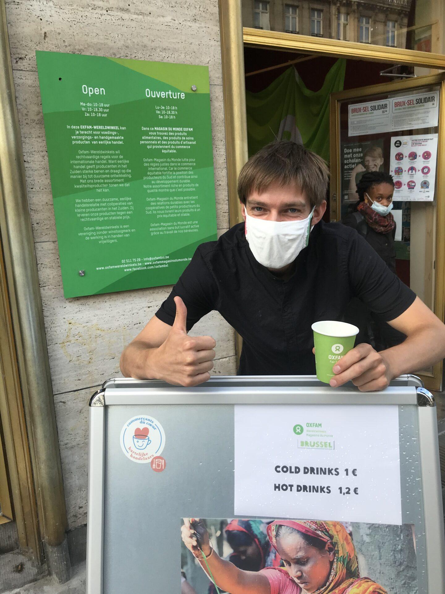 Oxfam - panneau 1