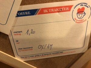 Oxfam - ticket 1